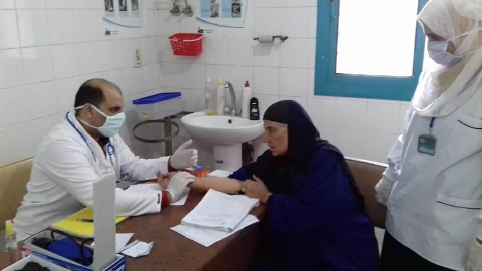 قوافل طبية فى مرسى مطروح